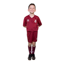 Maillot+Short Enfants rouge FCFB