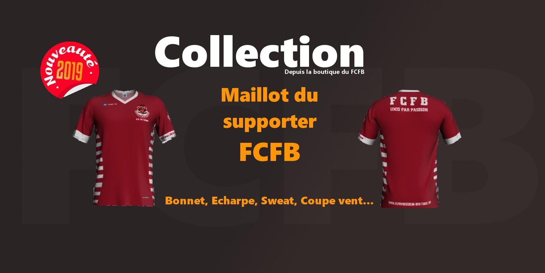 Tous sur les tenues aux couleurs du Football Club Fay Bouvron